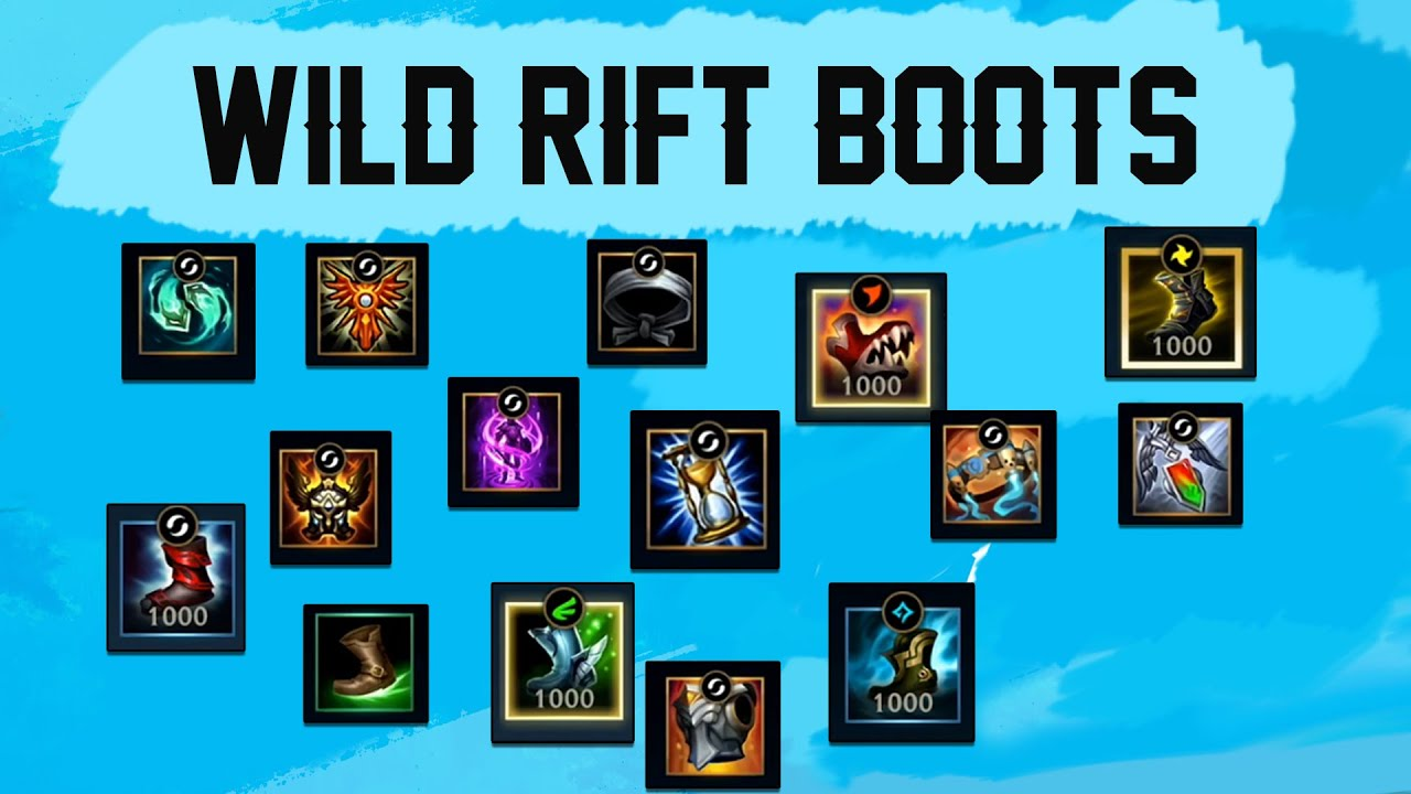 lol wild rift boots cover
