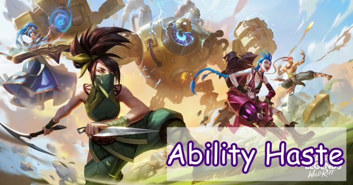 haste ability